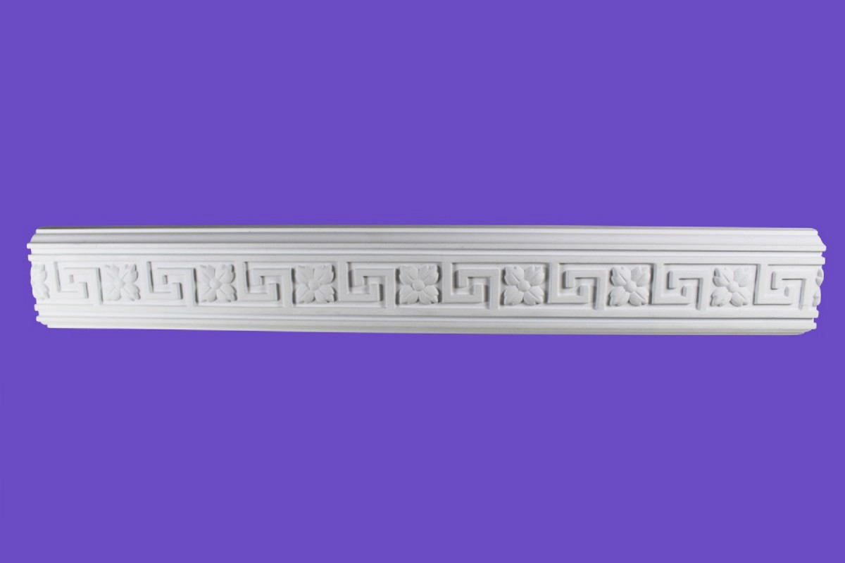 Cornice White Urethane Sample of 18857 19.5 Long Crown Molding Crown Moldings Crown Moulding