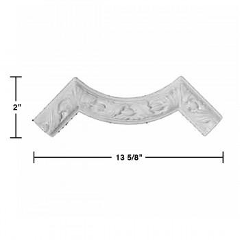 spec-<PRE>Cornice White Urethane Molding </PRE>
