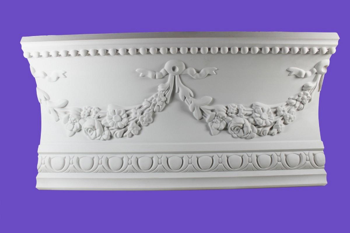 Cornice White Urethane Sample of 18865 18.75 Long Cornice Cornice Moulding Cornice Molding