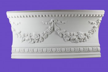 <PRE>Cornice White Urethane Sample of 18865 18.75inch Long </PRE>zoom9