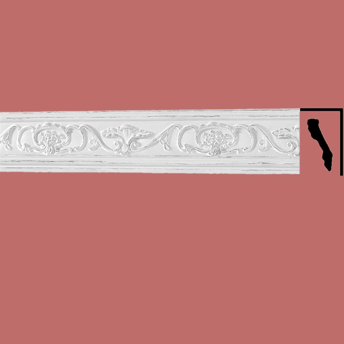 Cornice White Urethane Sample of 18867 Cornice Cornice Moulding Cornice Molding
