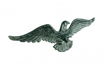 American Bald Eagle Cast Black Aluminum 6 H X 19 W