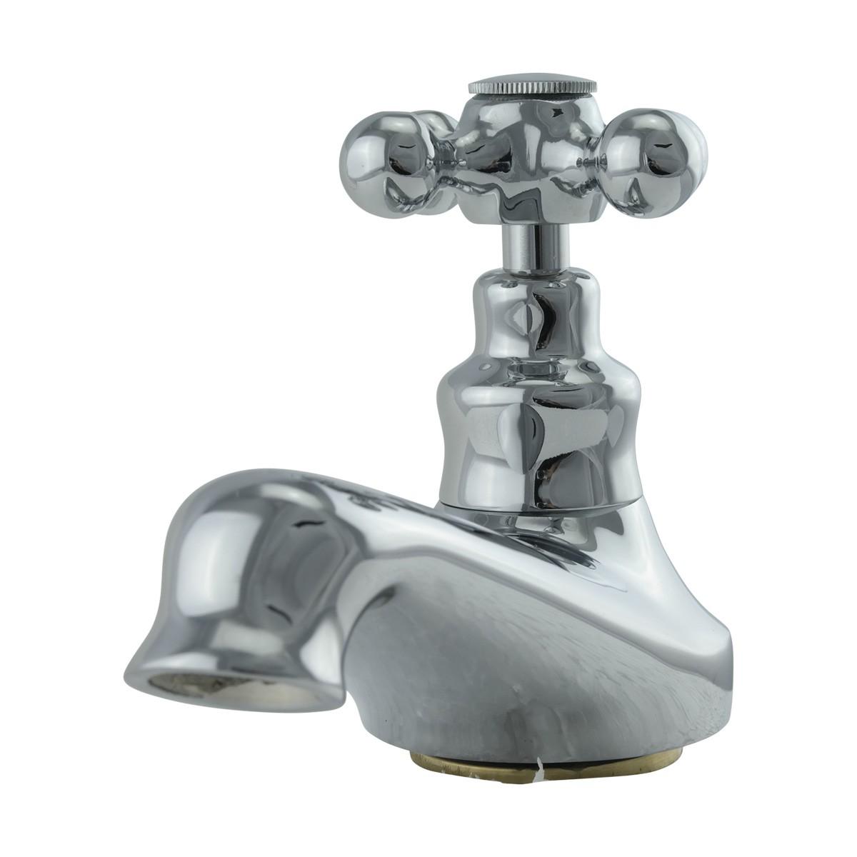 Bathroom Single Tap Faucet Chrome Pair 2 Handles Widespread Single Tap Faucets Bathroom Hot and Cold Faucets Bathroom Sink Widespread Faucet
