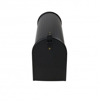MAIL Black Rural Mailbox Solid Brass US Mail Black Mailbox Mailboxes Heavy Duty