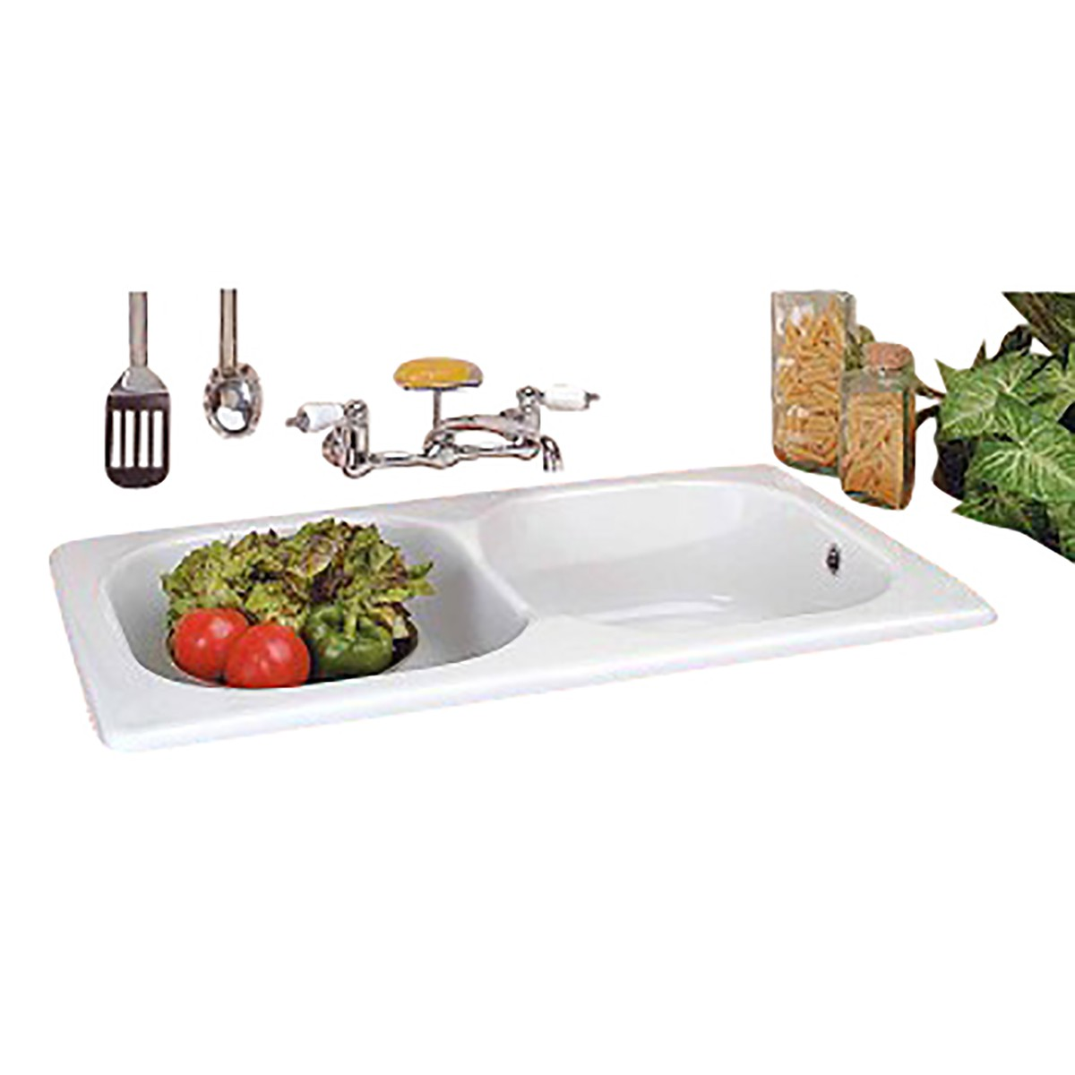 Renovator's Supply Kitchen Farmhouse Drop-In Counter Sink