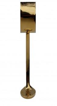 <PRE>Polished Solid Brass Combination Bar Bracket  2inch OD </PRE>zoom4