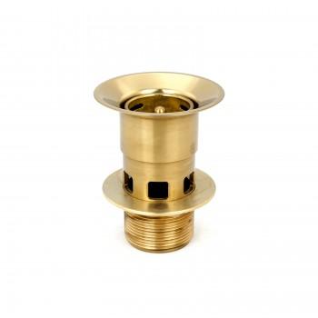Kitchen Sink Strainer Bright Brass Overflow Basket Drain Accessory Drain Accesories Sink Strainer