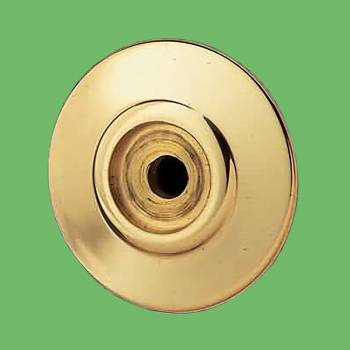 <PRE>Cabinet Knob Rosset Bright Solid Brass 1 1/2inch Backplate </PRE>zoom2
