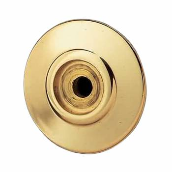 <PRE>Cabinet Knob Rosset Bright Solid Brass 1 1/2inch Backplate </PRE>zoom1
