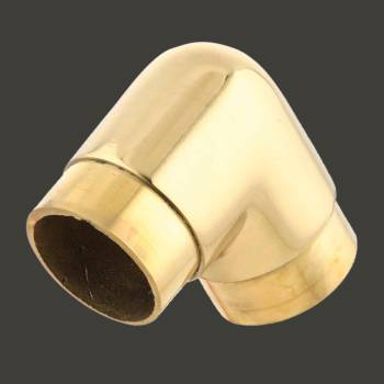 <PRE>Brass Flush Elbow 90 degree Fitting 1.5inch Bar Rail </PRE>zoom2
