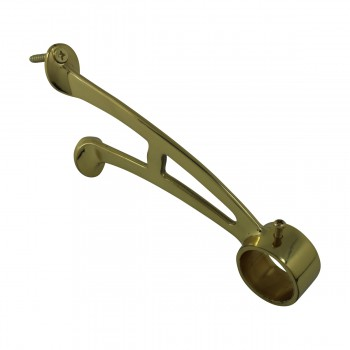 <PRE>Brass Wall Mount Bar Bracket Fitting 1.5inch Bar Rail </PRE>zoom4