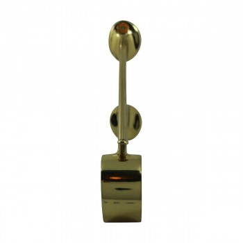 <PRE>Brass Wall Mount Bar Bracket Fitting 1.5inch Bar Rail </PRE>zoom8