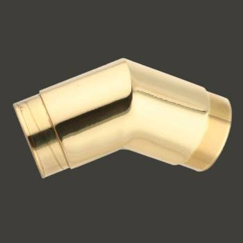 <PRE>Brass Flush Elbow Fitting 135 degree 1.5inch Bar Foot Rail </PRE>zoom2