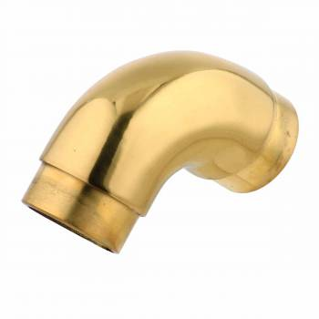 Solid Brass Flush Curved Elbow degree Fitting 1.5