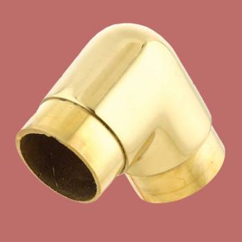 <PRE>Polished Brass Tubing Joint Fits 2in. Tubing 90 Degree Turn </PRE>