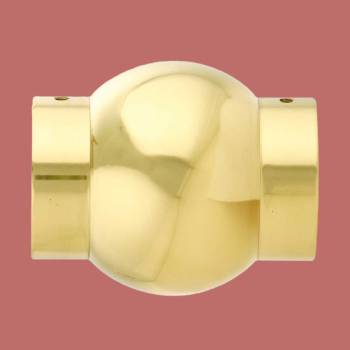 <PRE>Polished Solid Brass Ball Joint Fitting 2inch Tubing Connector </PRE>zoom2