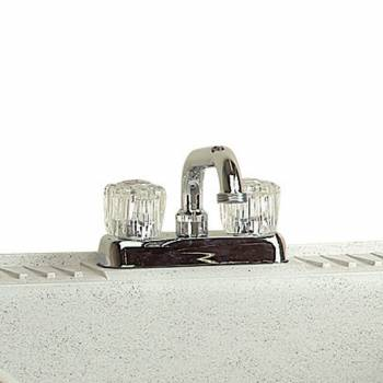Kitchen Faucet Centerset Chrome 2 Handles