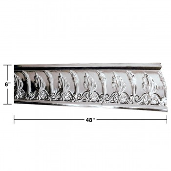 spec-<PRE>Ceiling Tiles Tin Plated Steel Cornice Torch and Flame </PRE>
