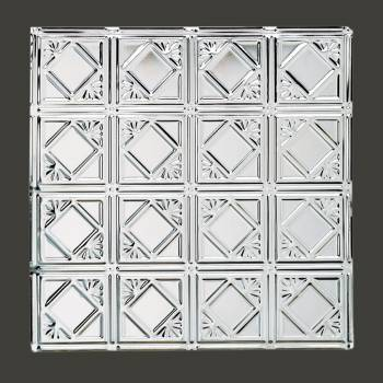 <PRE>Ceiling Tiles Tin Plated Steel Diamond 2' x 2' </PRE>zoom2