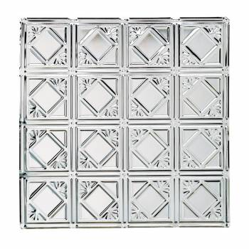 Ceiling Tiles Tin Plated Steel Diamond 2 x 2