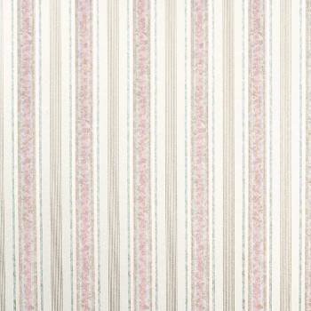 Wallpaper Striped Vinyl Hyde Park Double Roll