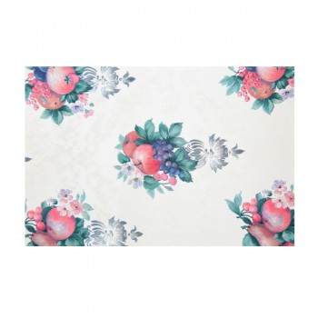 Wall Paper Off White Vinyl Chelsea Double Roll Vinyl Fruit Wallpaper Wall Paper Vinyl Wall Paper