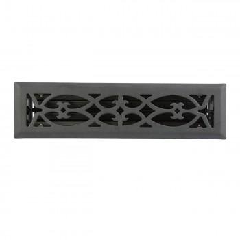 <PRE>Floor Heat Register Louver Vent Steel 2 1/4 x 12 Duct </PRE>zoom3
