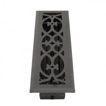 <PRE>Floor Heat Register Louver Vent Steel 2 1/4 x 12 Duct </PRE>zoom4