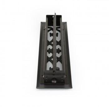 <PRE>Floor Heat Register Louver Vent Steel 2 1/4 x 12 Duct </PRE>zoom6