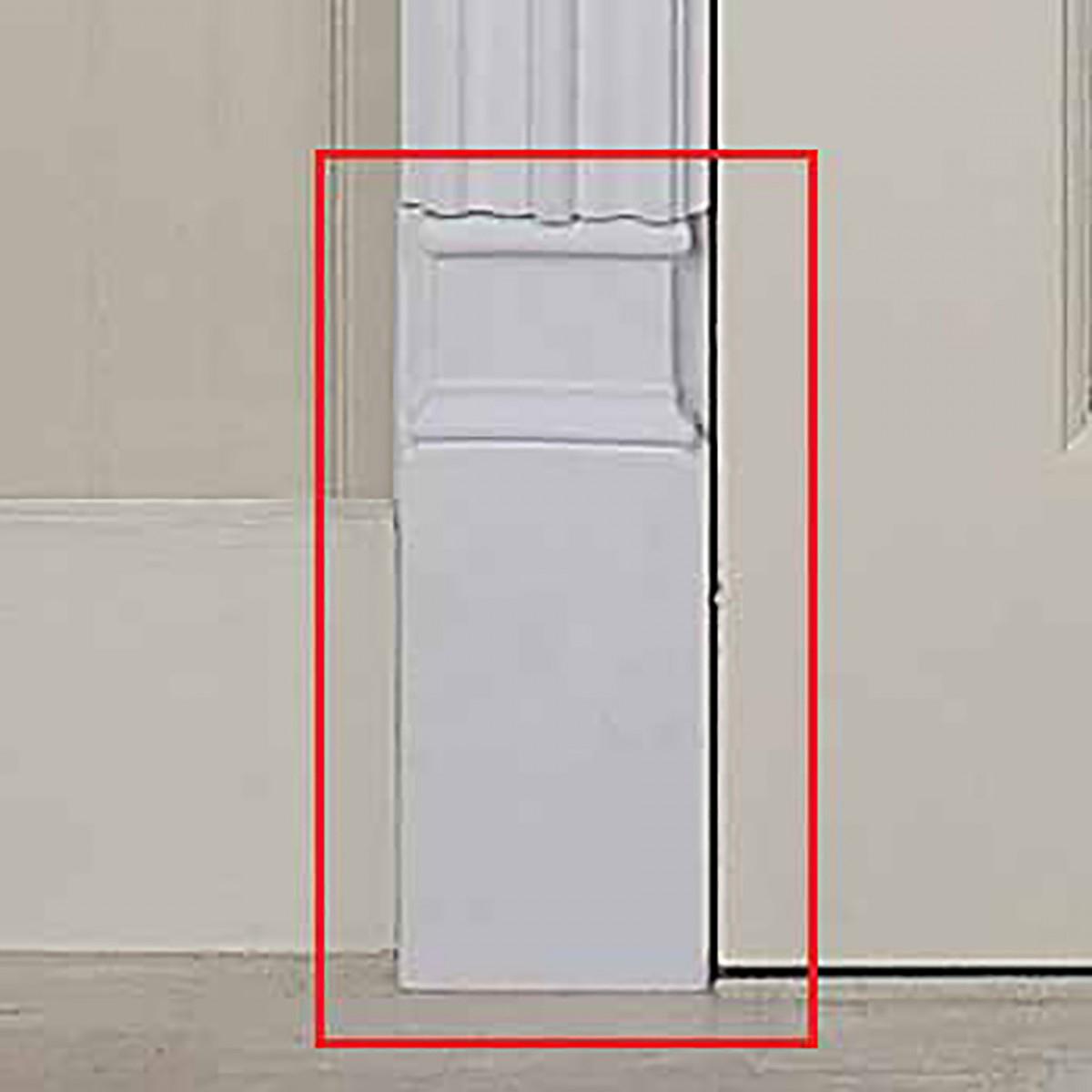Door Trim White Urethane Plinth 9 12 H Door Trim White Door Trim Door Moulding