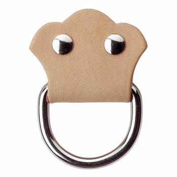 Trunk Hardware Natural Leather Trunk Pull 2.5