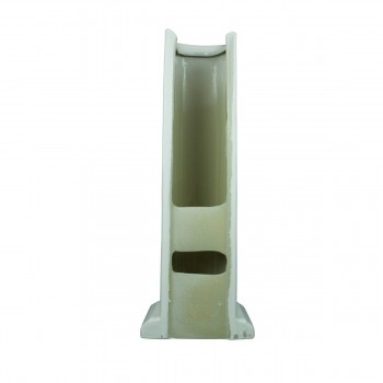 <PRE>Pedestal Bathroom Sink White China Pedestal Only </PRE>zoom5