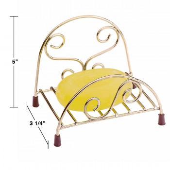 spec-<PRE>Freestanding Soap Dish Soap Holder Brass </PRE>