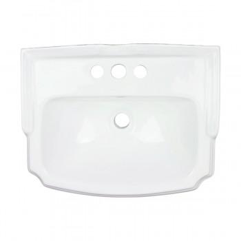 <PRE>Renovator's Supply Small White Bathroom Pedestal Sink Grade A Vitreous China</PRE>zoom4