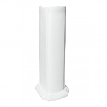 <PRE>Renovators Supply Small Bathroom White Pedestal Sink 4inch Centerset Faucet Holes</PRE>zoom6