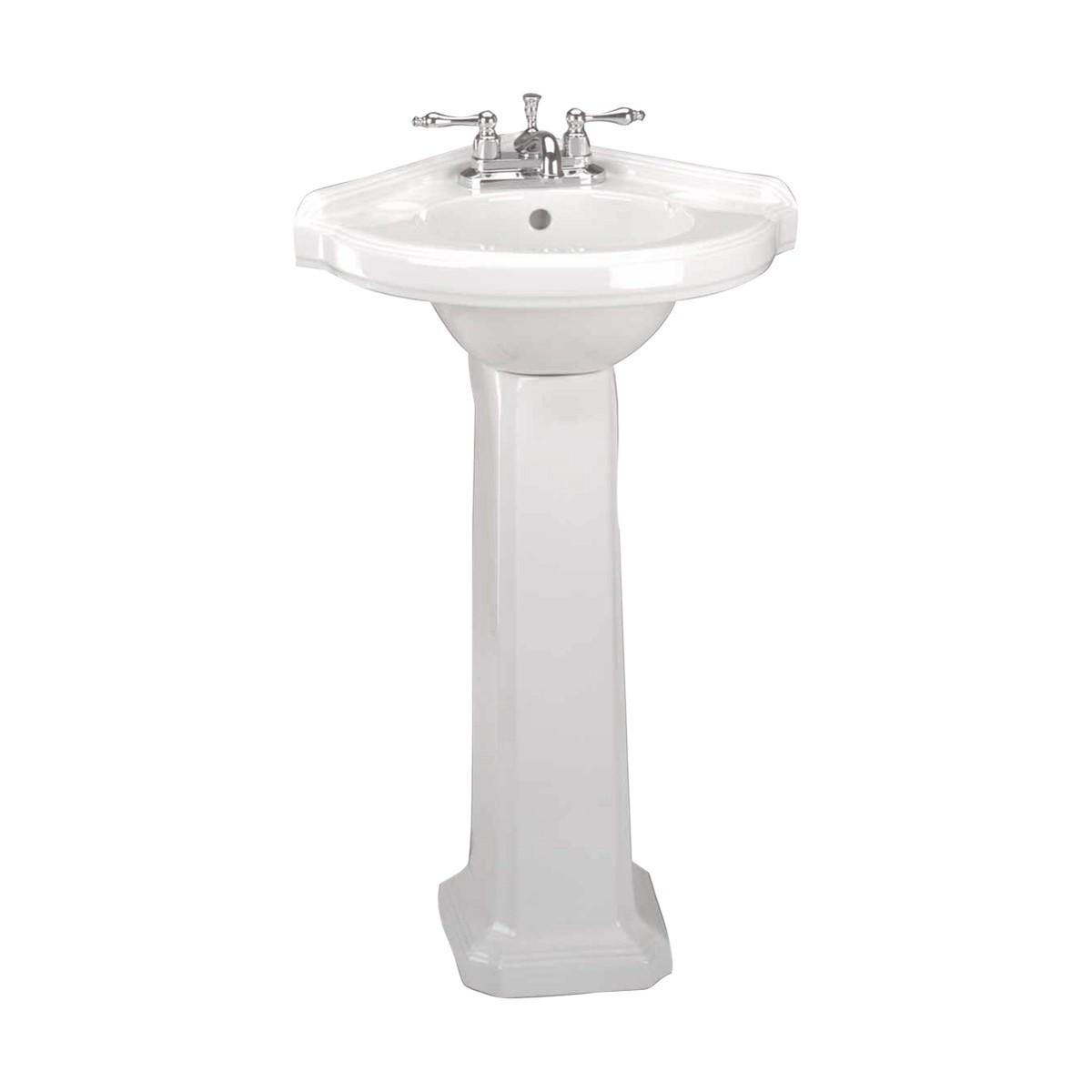 cadet pedestal inch standard sinks sink bathroom american