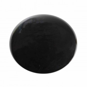 <PRE>Cabinet Knob Black Porcelain Solid Brass Backplate </PRE>zoom6