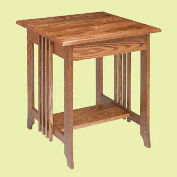 End Tables Bedroom Dark Oak Mission End Table 24.5 Inch Oak Pine Living Room Mission End Table Wood Wooden End Tables Heirloom Coffee Table Store