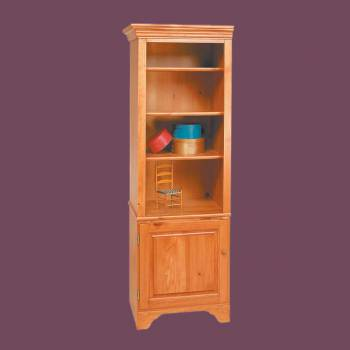 <PRE>Shaker Heirloom Pine Shaker Bookcase Heirloom Pine Kit 66 1/2H</PRE>zoom2
