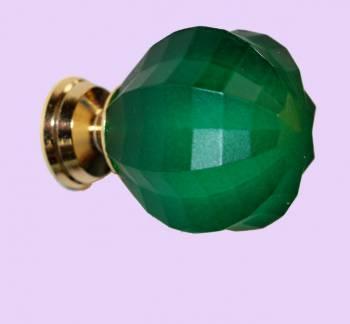 <PRE>Cabinet Knob Emerald Acrylic 1inch Dia Frosted </PRE>zoom2