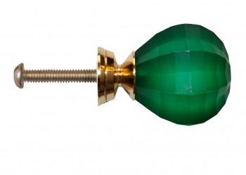 <PRE>Cabinet Knob Emerald Acrylic 1inch Dia Frosted </PRE>zoom4
