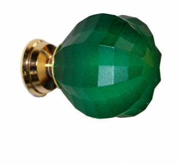 <PRE>Cabinet Knob Emerald Acrylic 1inch Dia Frosted </PRE>zoom1