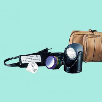 <PRE>Halogen Spot Light Black 5 Colored Lenses 2inchH </PRE>zoom2