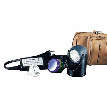 <PRE>Halogen Spot Light Black 5 Colored Lenses 2inchH </PRE>zoom1