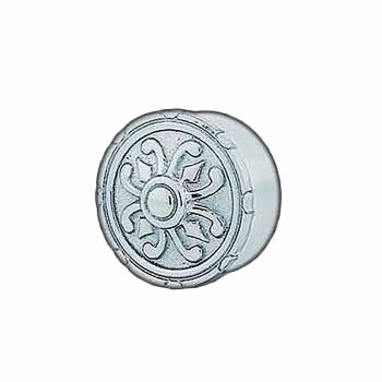 Carved Decorative End Plug Cap 1.5