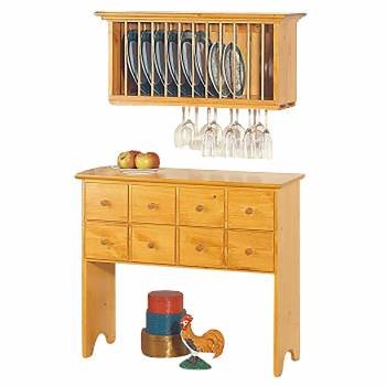 <PRE>Shaker Heirloom Pine Buffet Storage Unit</PRE>zoom1