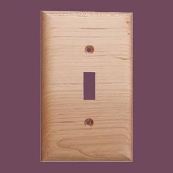 <PRE>Switchplate Natural Maple Single Toggle </PRE>