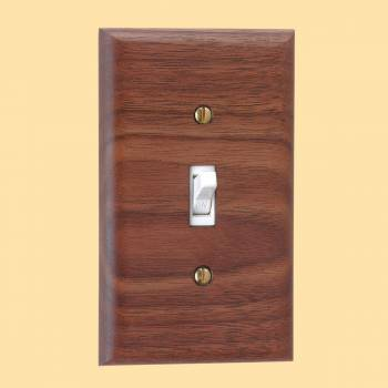 <PRE>Switchplate Walnut Single Toggle </PRE>zoom2