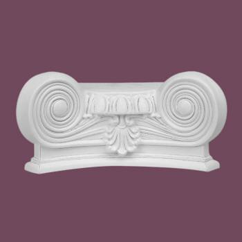 <PRE>Column White Urethane Capital 180 Degree Half Round  </PRE>