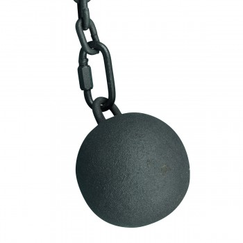 <PRE>Gate Latch Cast Iron Cannonball and 5 Feet Chain </PRE>zoom6
